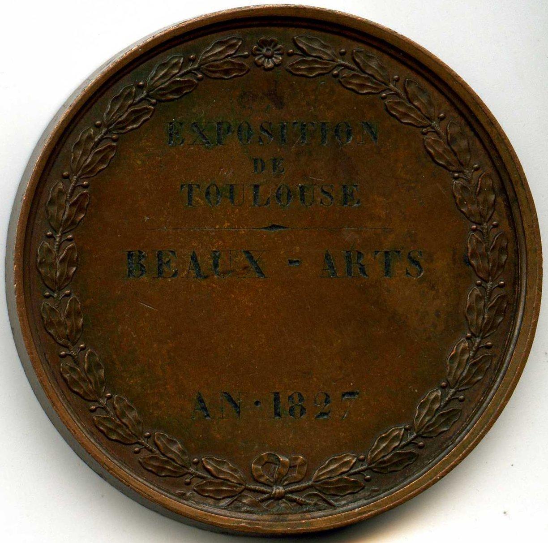 Toulouse exposition des beaux arts 1827 - Portes ouvertes beaux arts toulouse ...